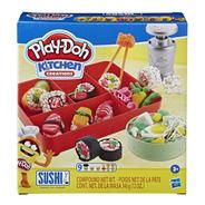 Novo Play Doh Kitchen Creations Comida Japonesa Sushi Hasbro