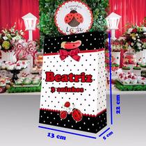 Sacolas De Papel Personalizadas Para Aniversário + Brinde