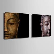 Par De Cuadros Decorativos Buda Listos Para Colgar