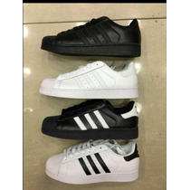 Zapatos Adidas Súper Star De Hombres Y De Mujeres