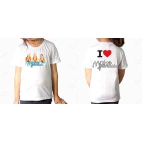 Camiseta 2 Mako Mermaids 1² Temp - Coleção I Love Mako Merm.