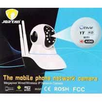 Camera Ip De Seguranca Sem Fio 2 Antena Sistema Yyp2p Jortan