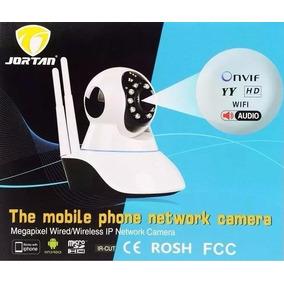 Camera Ip De Seguranca Sem Fio Infra 2 Antena Yyp2p Jortan