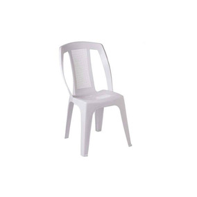 Cadeira Bistrô Paris Dolfin Empilhavél Branca