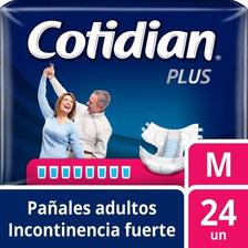 Pañales De Adulto Cotidian Plus Incontinencia Fuerte 24 Un M