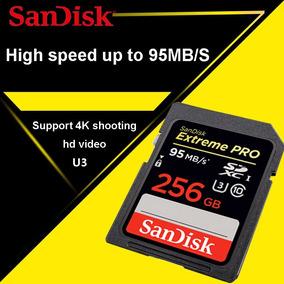 Cartão De Memória Sandisk Extreme Pro 256gb & Frete Grátis
