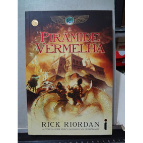 Livro A Pirâmide Vermelha Rick Riordan