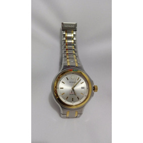 Reloj Movado De Pulsera Acero Y Oro 14k Original