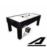 Mesa Aero Hockey Air Game Preta 1048 Melhor Frete