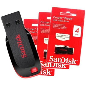 Pendrive 4gb Sandisk Lacrado Original