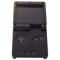 Carcasa Plastica Para Nintendo Gameboy Sp Negra