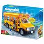 Playmobil 5940 Autobus Escolar Con Luces, Villa Urquiza