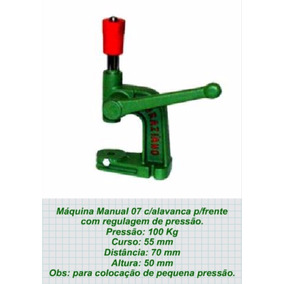 Maquina, Botao Pressão Ferro Niquel, Matriz Roupa Bebe N. 35