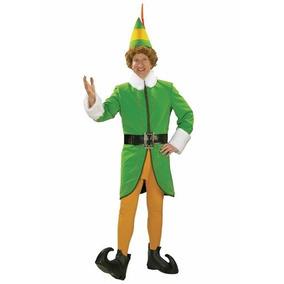 Disfraz De Buddy Elf Duende Navidad Para Adultos