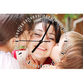 Relojes Dia De La Madre Personalizado De Pared 30xm X 40cm