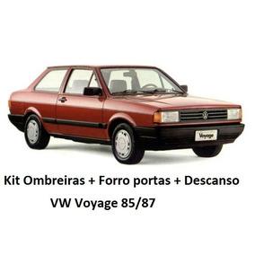 Ombreira + Forro Portas + Descanso Braço Voyage 85 86 87 Prt