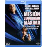 Mision Seguridad Maxima Bruce Willis Pelicula Bluray