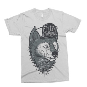 Remera Rotton Wolf Tattoo Alternative Drop Dead Abandon Shi