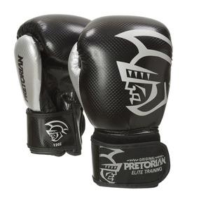 Luva De Boxe/muay Thai Pretorian Elite Training 14oz Preta