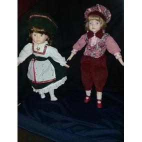 Muñecas De Porcelana Italianas