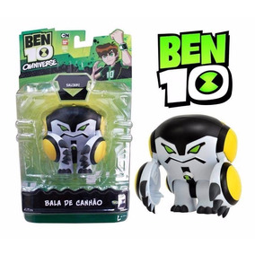Boneco Ben 10 Omniverse - Bala De Canhão 10cm - Sunny