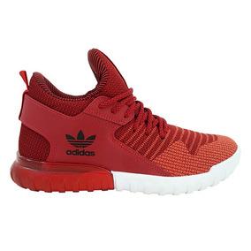 Tênis adidas Tubular X Primeknit Vermelho