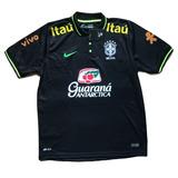 Camisa Seleção Brasileira Cbf Treino Tite Polo Oficial