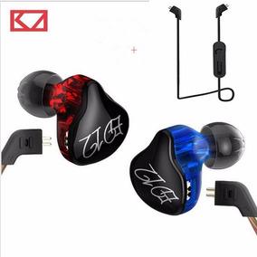 Kz Acoustics Ed12 Bluetooth Hibrido Con Estuche Y Cable