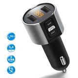 Transmisor De Bluetooth Fm Para La Radio Fm Inalámbrica De