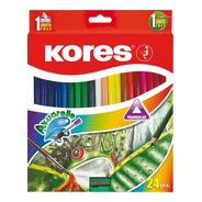 Colores Acuarelables X 24 Kores - Unidad a $812
