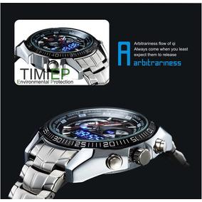 Relógio De Luxo Led Tvg Seals Elite Original - Frete Grátis!