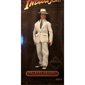 Boneco Sideshow Indiana Jones Dr René Beloq