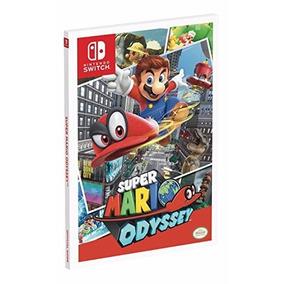 Livro Guia Super Mario Odyssey: Prima Official