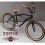 Bicicleta Vintage Harley Style - Beach Bike Retro Caiçara