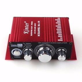 Mini Modulo Amplificador Ma-170 Estéreo Mp3 Ipod