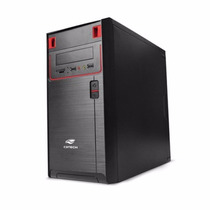 Gabinete C3 Tech Micro Atx Mt-21bk Com Fonte 200 Watts