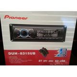 Reproductor Carro Pioneer Bluetooth, Usb, Aux Y Radio