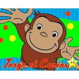 Kit Imprimible Jorge El Curioso Diseñá Tarjetas Fiesta