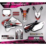 Kit Calcos Gráfica Keller Mx 260 - Gruesas