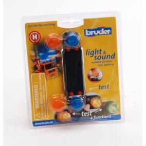 Bruder 2801 - Dispositivo De Som E Luz Para Caminhões