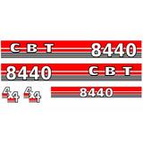 Adesivo Trator Cbt 8440