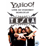 Dvd Tesla - Yahoo! Live In Concert 2015