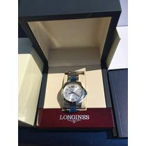 Reloj Longines Conquest Caballero. Original, Cajas Y Manual