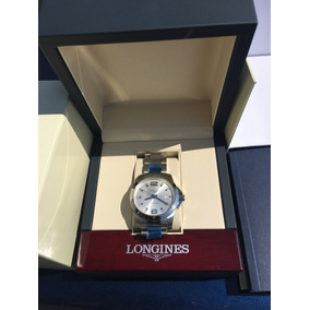 Reloj Longines Conquest Caballero. Original, Cajas Y Manual