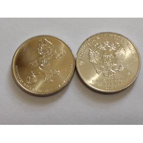 Moneda 25 Rublos Del Mundial Rusia 2018 Mascota Sin Circular