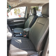 Funda Cuerina Premium Centro Perforado Toyota Yaris -carfun-
