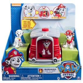 Paw Patrol Marshal Pup To Hero Playset Jugueteria Bunny Toys