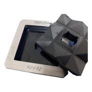 Punção E Matriz Retangular 92x92 P/vazador De Chapas