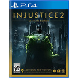 Injustice 2 Ultimate Edition Juego Ps4 Playstation 4 Stock