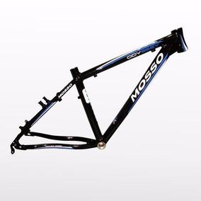 Quadro Bicicleta Aro 26 Mosso Odyssey Preto E Azul Tam 20